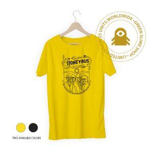 Honeybus Black/Yellow T-Shirt for men and women