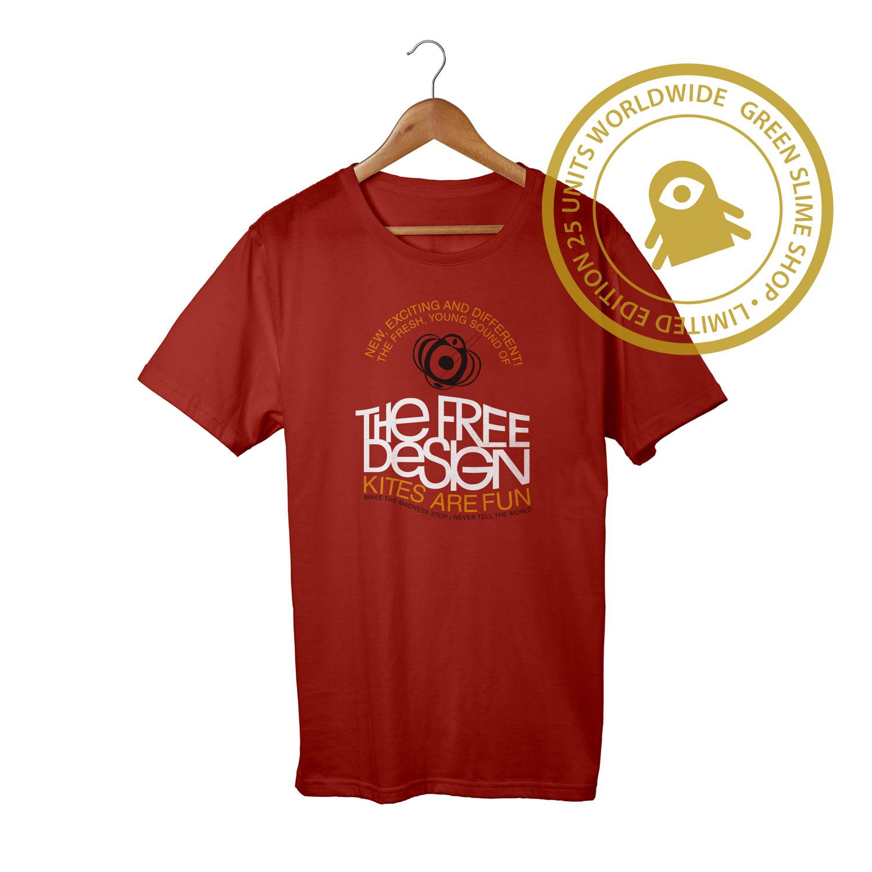 Free Design Kites are fun Red T-Shirt