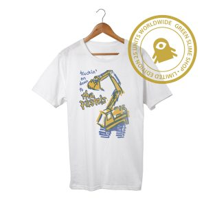 The Pastels Truck Train Tractor White TShirt