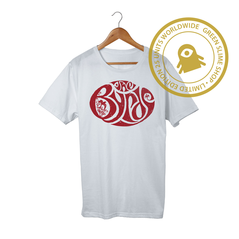 Byrds Turn Turn Turn White T-Shirt