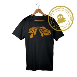 Kaleidoscope Tangerine Dream Black T-Shirt
