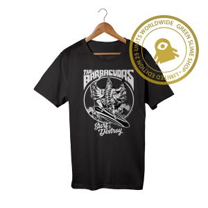 The Barracudas Black Tshirt